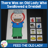 I Know an Old Lady Who Swallowed a Dreidel Cut-Out