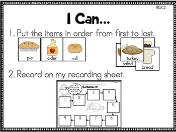 I Know an Old Lady Who Swallowed a Pie {Literacy Centers}
