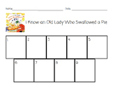 I Know an Old Lady Who Swallowed a Pie Sequencing Activity