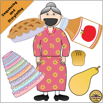 I Know an Old Lady Who Swallowed a Pie (Storytelling, Sequencing, Puppets)