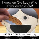 I Know an Old Lady Who Swallowed a Pie Activities