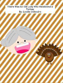 I Know an Old Lady Who Swallowed a Turkey - Print and Go Activity Pack