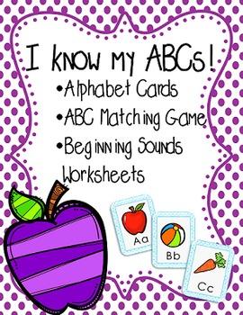 I Know my ABCs- Alphabet Practice- No Prep