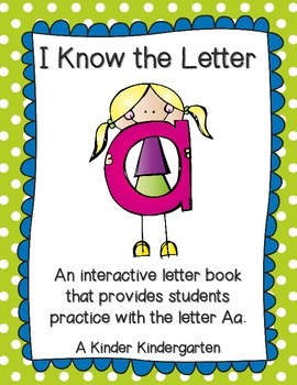 I Know the Letter A