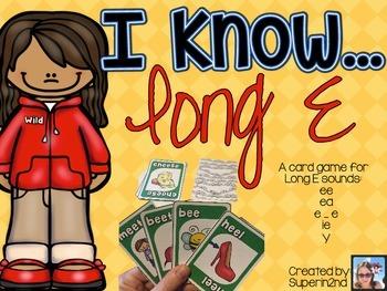 I Know...Long E