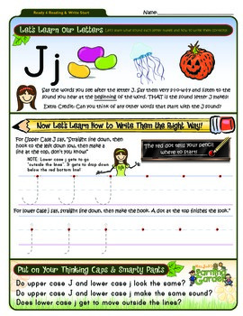 Ii, Jj, Kk & Ll Worksheet Bundle