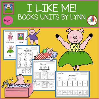 I LIKE ME! BOOK UNIT