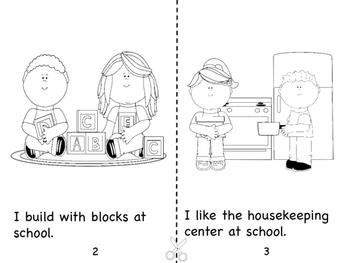 I LIke School! Booklet