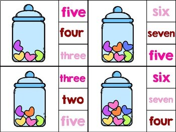 I LOVE CANDY: NUMBER WORDS