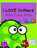 I LOVE Critters!!! Place Value Game
