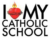 I LOVE MY CATHOLIC SCHOOL Poster