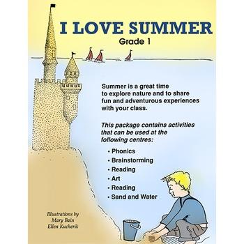 I LOVE SUMMER Gr. 1