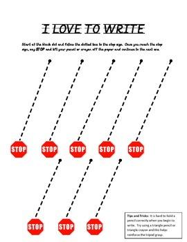 I LOVE TO WRITE - Diagonal