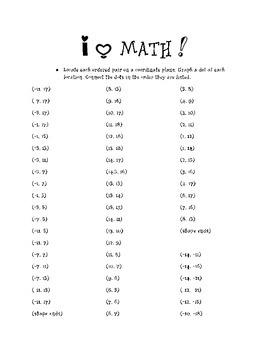 I LOVE math graph