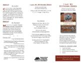I Lay My Stitches Down (Cynthia Grady/Michele Wood) Discus