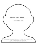 I Learn Best When. . .