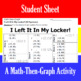 I Left It In My Locker! - 15 Linear Systems & Coordinate G