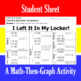 I Left It In My Locker - A Math-Then-Graph Activity - Solve 30 Systems