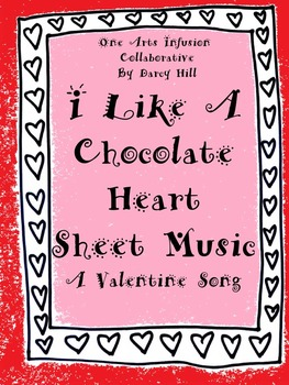 I Like A Chocolate Heart Sheet Music: A Valentine's Day Song