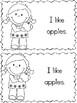 I Like Apples Emergent Reader