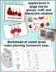 Apples: Describing and Sorting- Language Arts, Special Ed, Speech