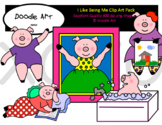 I Like Being Me Clipart Pack