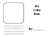 I Like Booklet