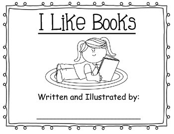 """I Like Books"" Activity"