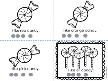 I Like Candy - an Emergent Reader