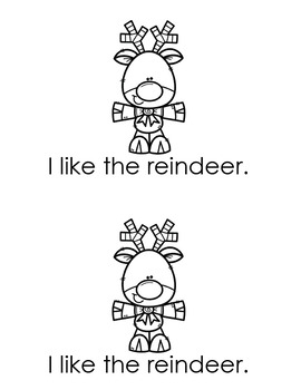 I Like Christmas - Early Emergent Reader
