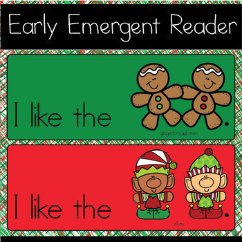 I Like Christmas - Google Slides Reader and Digital Activity