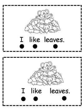 I Like Fall Leaves Reader