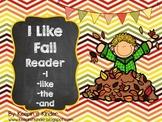 I Like Fall sight word reader