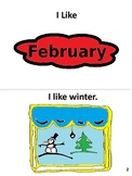 February Emergent Reader and Math Activity Book