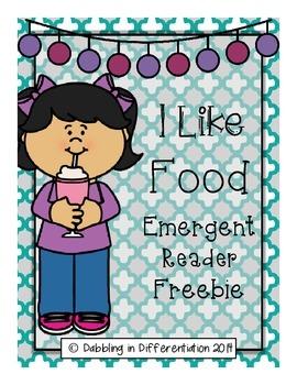Emergent Reader - I Like Food