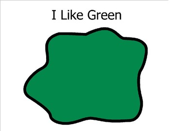 I Like Green (Sight Word Story Book to support Reading Street K)