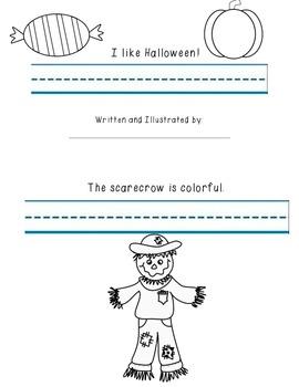 I Like Halloween Sight Word Minibook