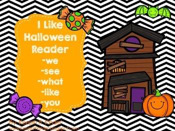 I Like Halloween reader