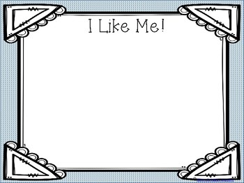 Writing Prompt - I Like Me