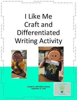 I Like Me: Craft and Differentiated Writing