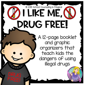 I Like Me...Drug Free (Red Ribbon Week)