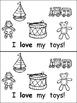 I Like My Toys Emergent Reader for Kindergarten- Level A