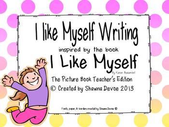 I Like Myself - Writing