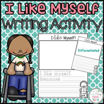 I Like Myself Writing and Art Project