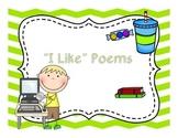 I Like Poems