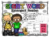 I Like School -SIGHT WORD Emergent Reader with worksheets