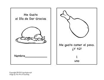 I Like Thanksgiving- Me Gusta el Día de Dar Gracias Small Book