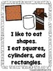 I Like To Eat Shapes  (A Sight Word Emergent Reader and Teacher Lap Book)
