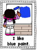 I Like To Paint!  (A Sight Word Emergent Reader)