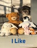 I Like - Sight Word Book 11 - I, like, to, play, eat